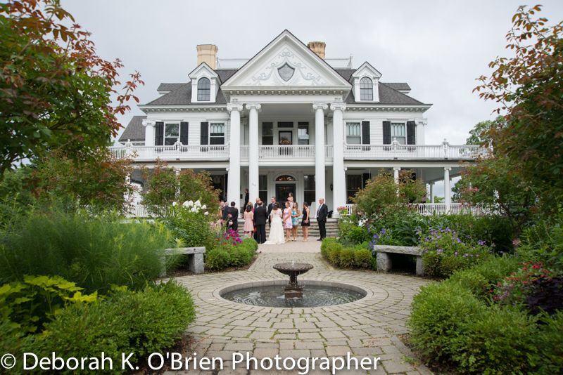 Eileen And Michael At The Lounsbury House In Ridgefield Ct